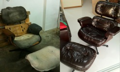 leather chair restore
